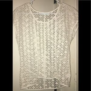 White Maurice's Layering Top